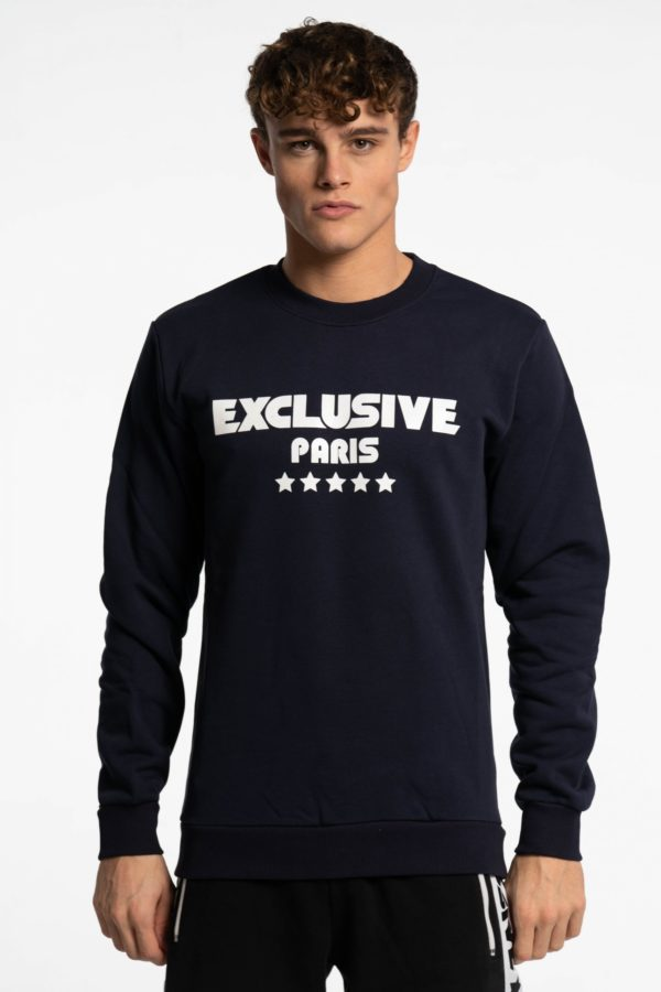 CREWNECK BASIC BLUE NAVY